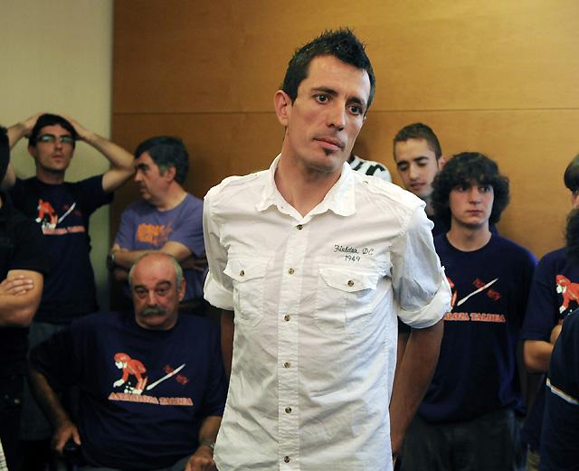 """Astarloza: """"Soy inocente, se me acusa de un delito que no he cometido"""""""
