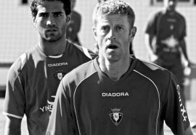 """Sergio Fernández: """"Ahora estoy más tranquilo y asentado en Osasuna"""""""