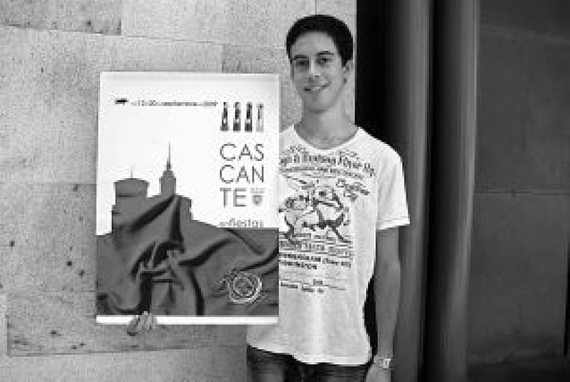 Aldo Jiménez gana el concurso de carteles
