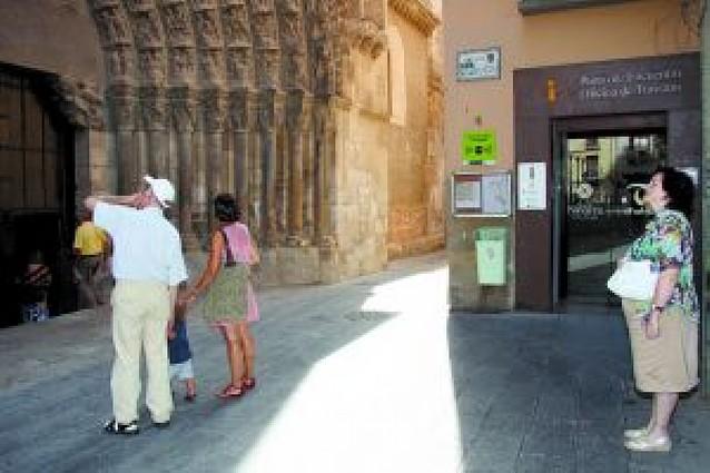 Tudela llenó sus hoteles el fin de semana de las fiestas y el resto la ocupación bajó hasta un 40%