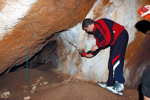 El mapa más antiguo de Europa se grabó en una cueva de Arraitz