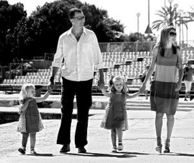 Las infantas pasean en Mallorca