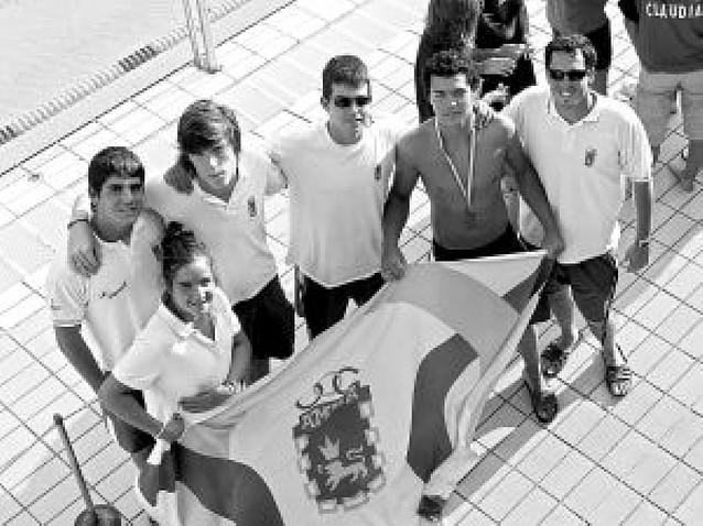 Javier Caballero, bronce en el Campeonato de España infantil