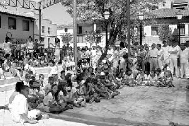 La nueva plaza de Tinglao será un lugar de música, ocio y cultura