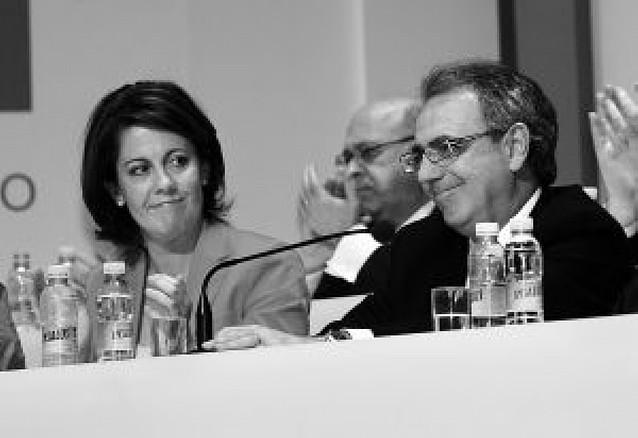 La gestión de la crisis de Cristina Sanz desata la división de opiniones en UPN