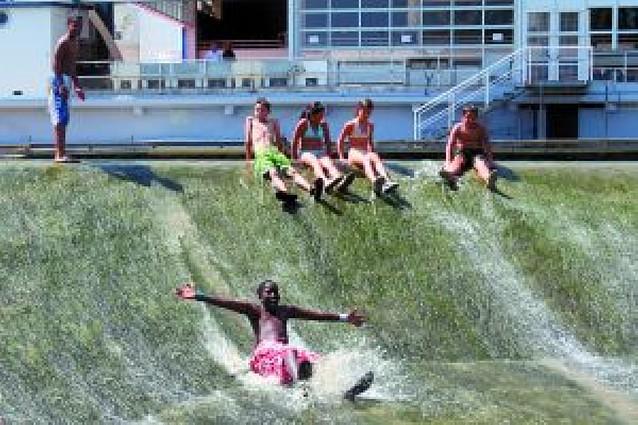 Nuevo récord de calor en Navarra... pasado por agua