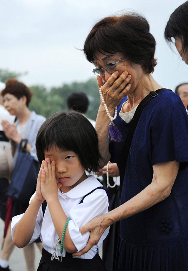 Hiroshima rememora el 64 aniversario de la bomba atómica