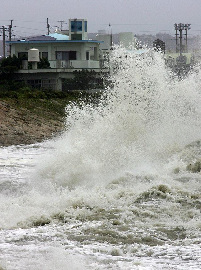"""Evacuados 900 turistas en el este de China por la llegada del tifón """"Morakot"""""""