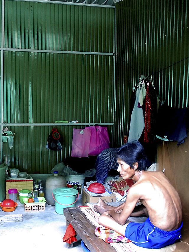 """""""La aldea del sida"""", un gueto para seropositivos en Camboya"""