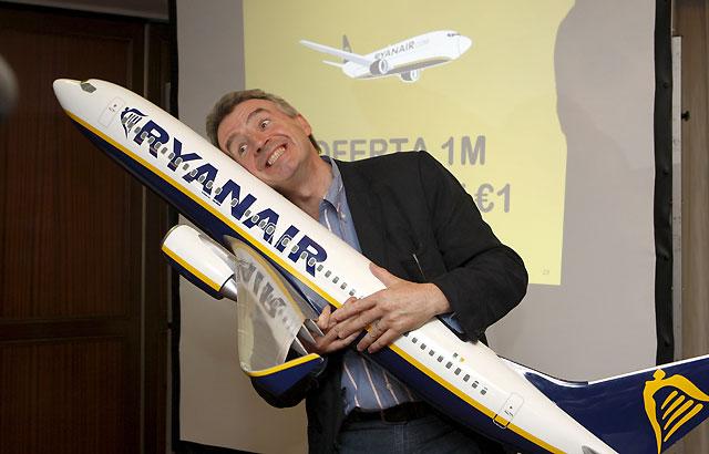 Ryanair prevé convertirse en la primera aerolínea en España por número de pasajeros en dos años
