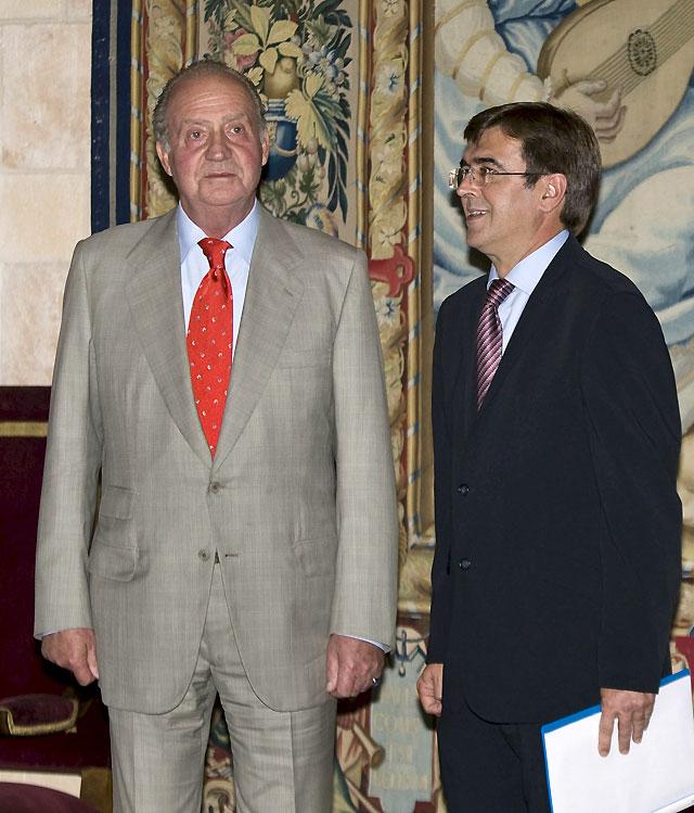 """El Rey y Antich transmiten una sensación de """"seguridad y tranquilidad"""" en Baleares tras el atentado"""