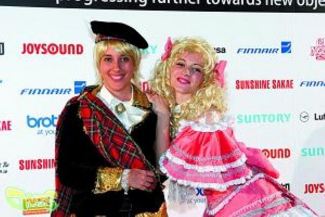 Dos españolas quedan segundas en el campeonato de Cosplay