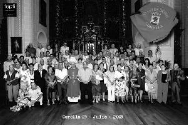 Los quintos de 1944 celebran su fiesta de hermandad