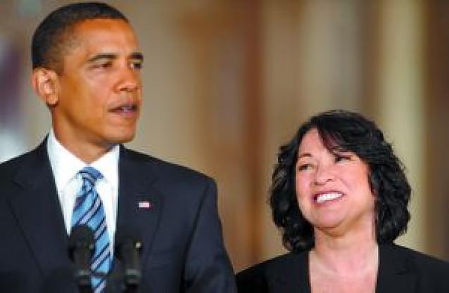 Sotomayor hace historia en el Supremo de EE UU