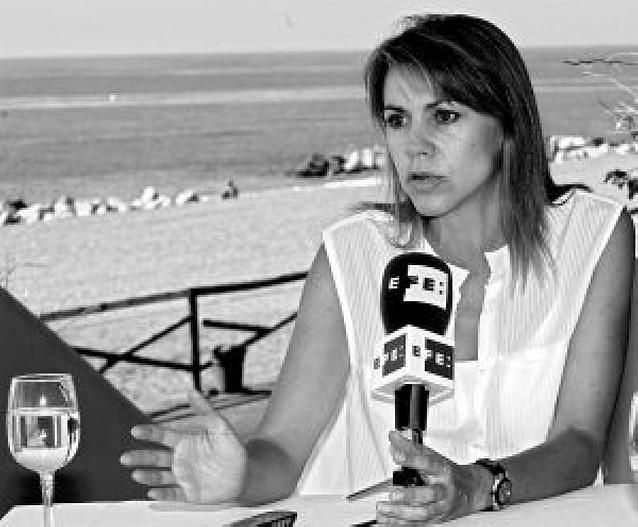 Dolores de Cospedal denuncia pinchazos telefónicos a altos cargos de su partido