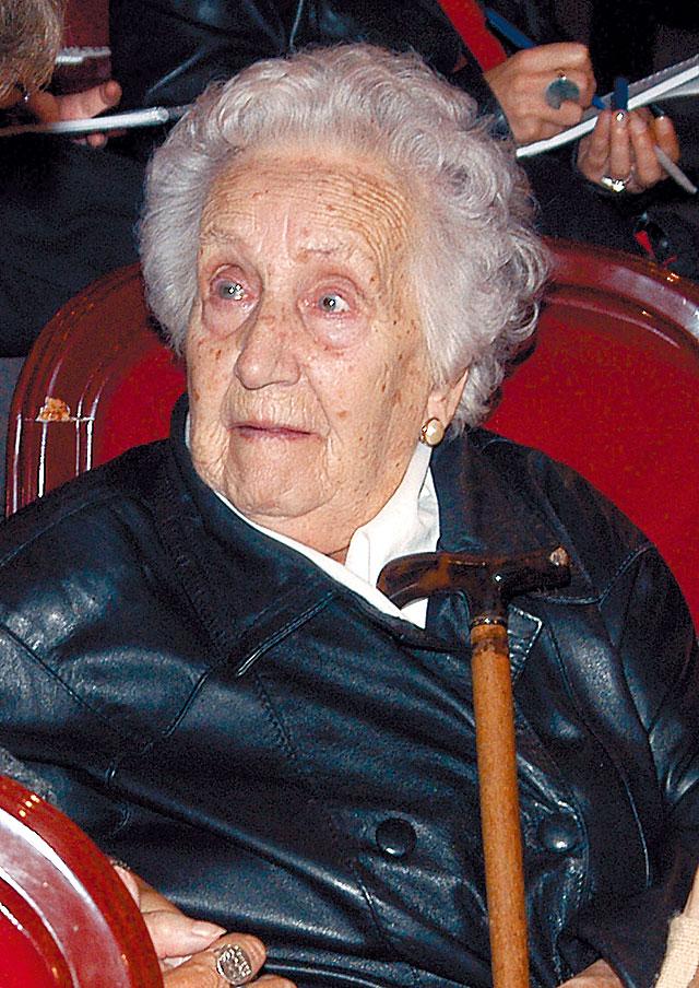 """Muere Lola Lemos, la """"abuela de la televisión"""""""