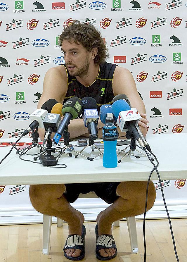 """Pau Gasol se incorpora a la selección: """"Llego física y mentalmente muy bien"""""""
