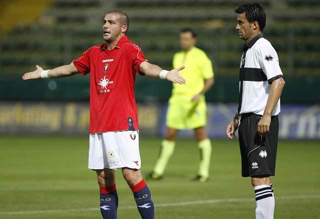 Osasuna deja Parma y llega hoy a Roma