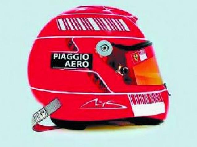 """El nuevo casco de """"Schumi"""""""