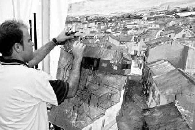 El corellano Albert Sesma López se impone en el concurso de pintura rápida