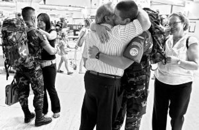 Doscientos soldados rumbo al Líbano