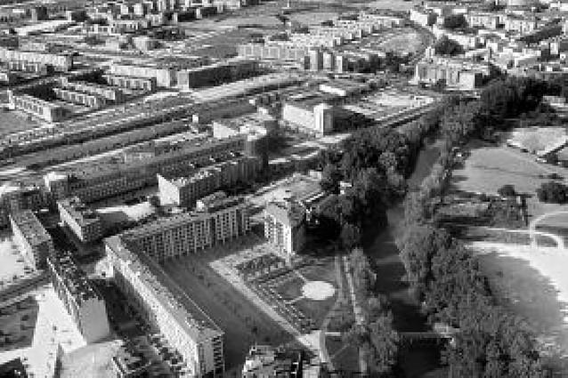 """La """"nueva"""" Pamplona vista desde el aire"""