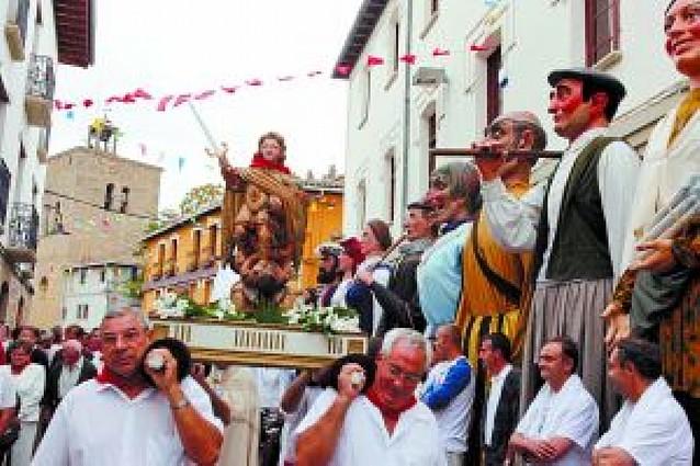 Danzas de altura en honor a San Miguel