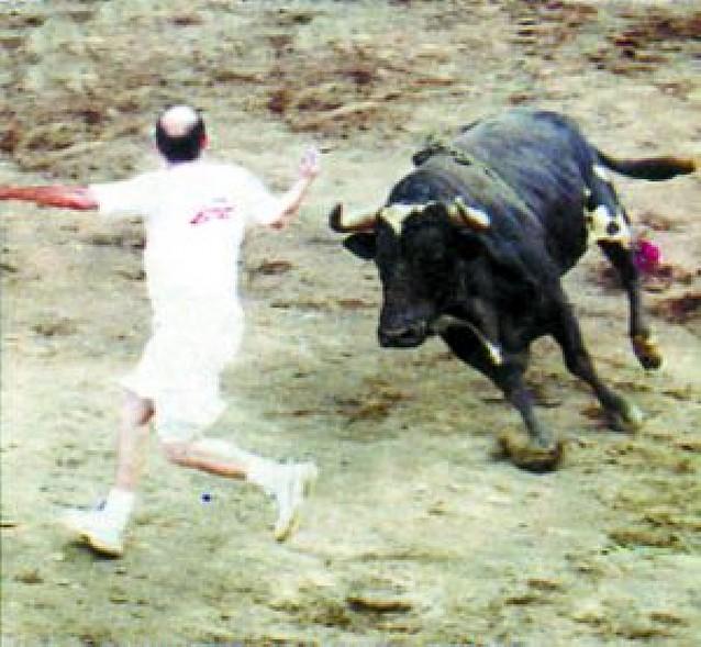 """El sacerdote """"torero"""" de Berbinzana"""