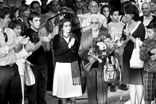 Berriozar recuerda a Francisco Casanova en el noveno aniversario de su asesinato