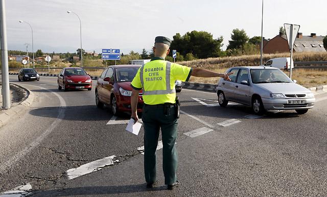 Tráfico duplica hoy los controles de velocidad