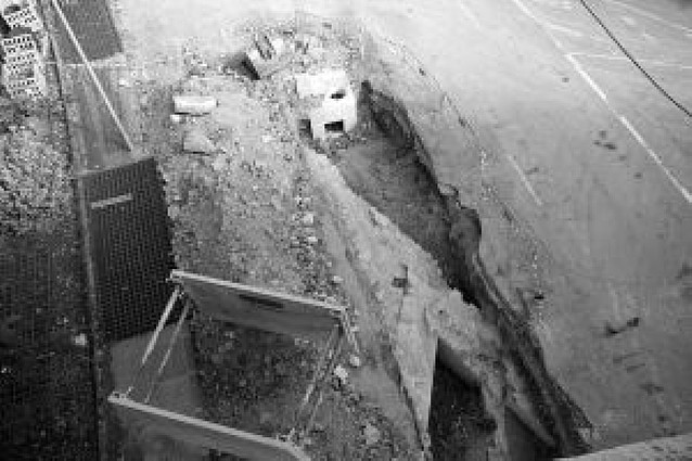 Hallados los restos del portal Nuevo que fue derribado en 1906