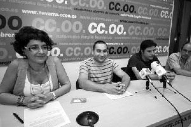 Los trabajadores de Consmetal en Noáin en huelga indefinida desde el 1 de julio