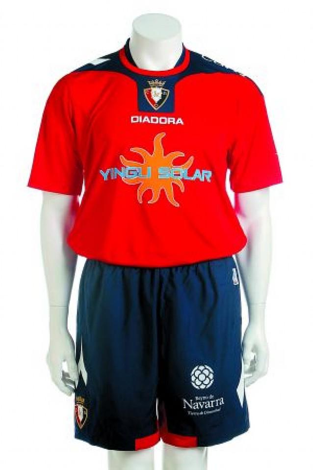 Osasuna ya tiene sus nuevas camisetas