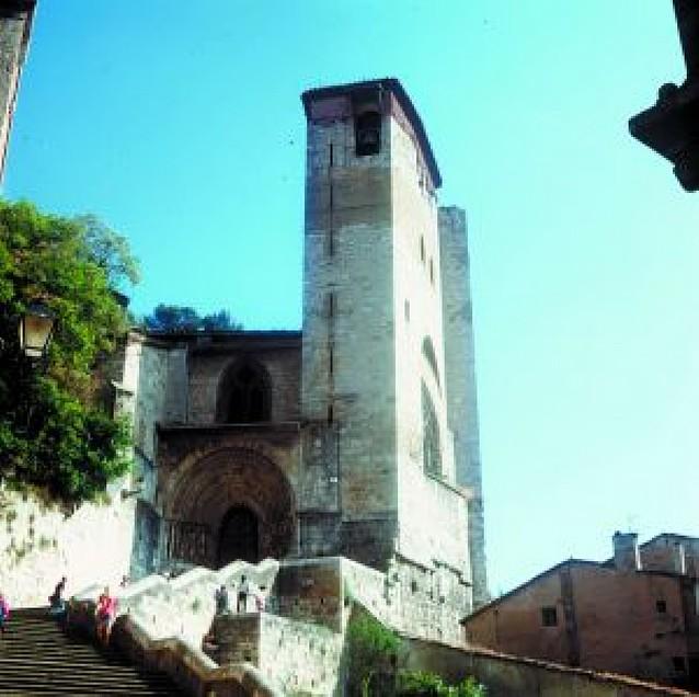 Antiguas fortificaciones y juderías de Estella
