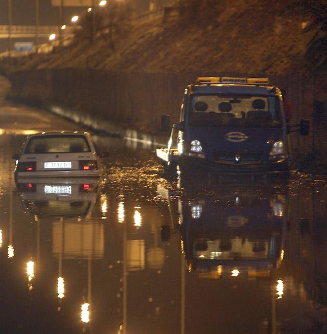Las tormentas causan inundaciones en Madrid, Toledo y Ciudad Real