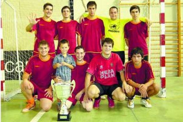 El zulo gana el torneo de verano de Fustiñana