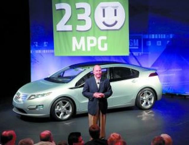 GM presenta su coche eléctrico Volt