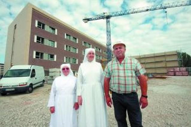 La nueva residencia de las Hermanitas de los Pobres entra en su fase final
