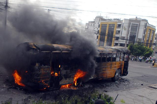 Impuesto el toque de queda en Honduras por los disturbios