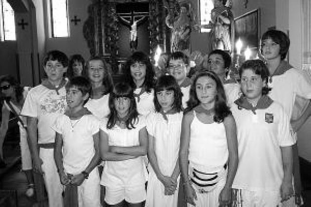 Los niños protagonizan la última jornada festiva