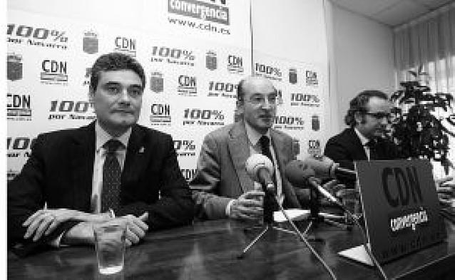 """UPN y CDN ven """"gravísimas"""" e """"inaceptables"""" las palabras de Aralar"""