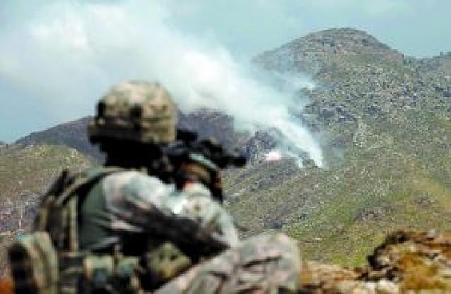 EE UU lanza una ofensiva en Afganistán a una semana de las elecciones presidenciales