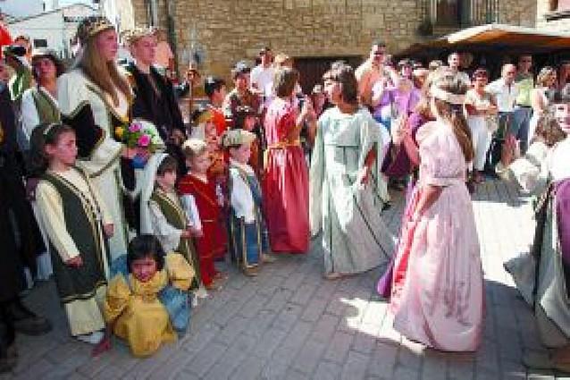 """Olite pretende """"involucrar más"""" a sus vecinos en las Fiestas Medievales"""