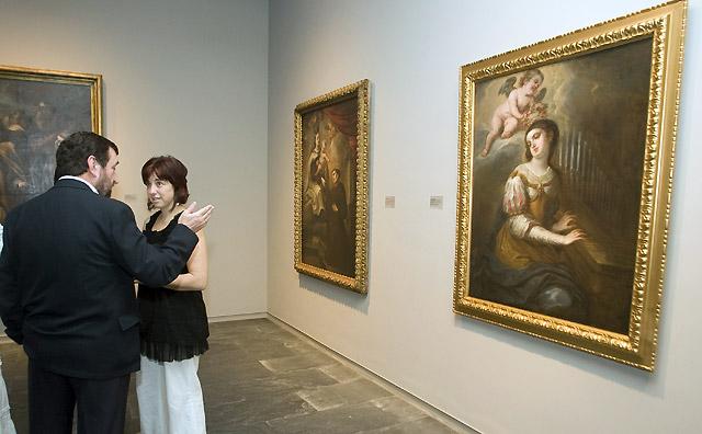 El Gobierno de Navarra adquiere el cuadro 'Santa Cecilia'