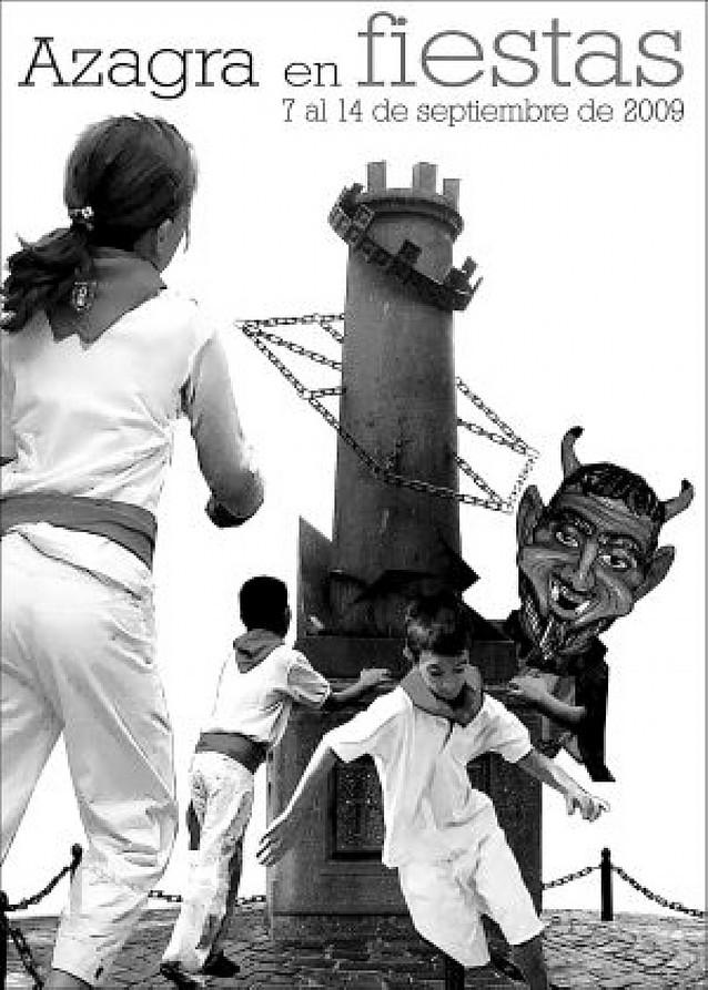 Un cartel de Iñaki Fernández ilustrará las fiestas de Azagra