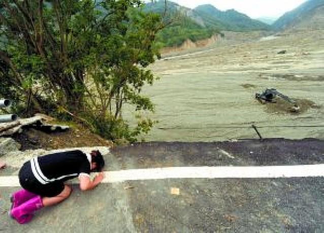 """El número de muertos en Taiwán por el tifón """"Morakot"""" asciende al medio millar"""