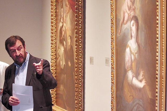 """El Gobierno foral compra para el Museo de Navarra """"Santa Cecilia"""", de Vicente Berdusán"""