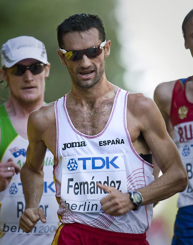 Paquillo Fernández abandona en los 20 kilómetros marcha