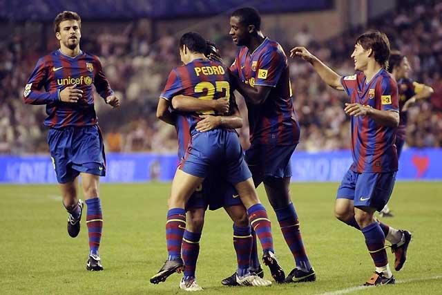 El Barça golpea primero (1-2)