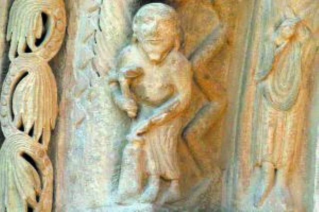 El prodigioso relato en piedra de Santa María la Real